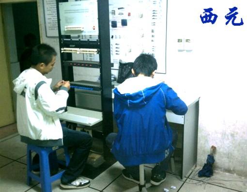 陕西/陕西职业技术学院学生通过西元《网络综合布线工程技术认证工程...
