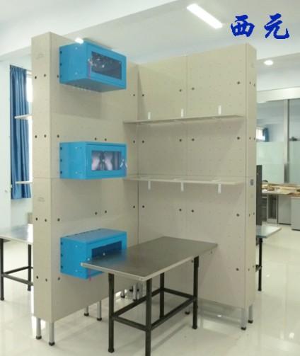 郑州航空工业管理学院网络综合布线实训室项目竣工