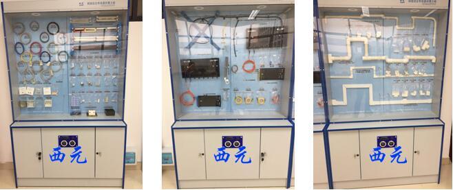 网络综合布线器材展示柜
