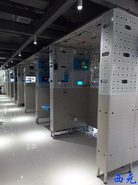 河南经贸职业学院物联网技术实训室整体图1
