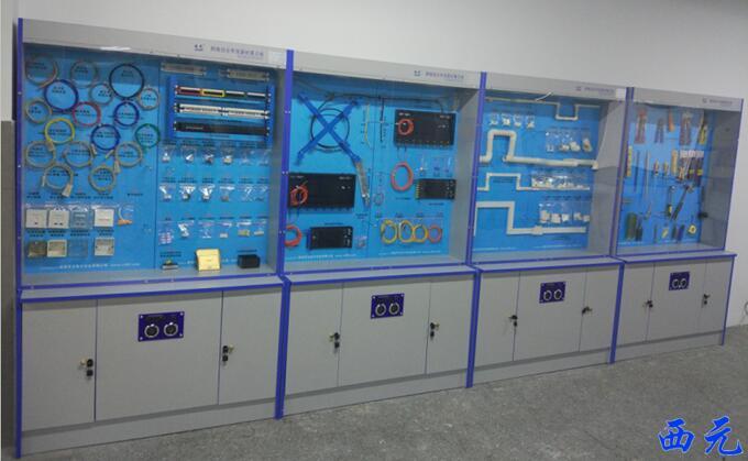 西元综合布线器材展示柜