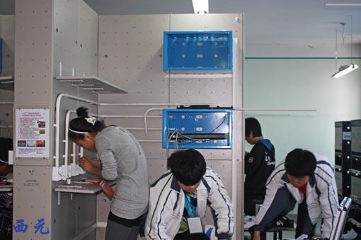 哈尔滨市综合布线技术技能大赛-布线